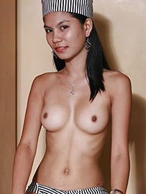 Asian slim nude