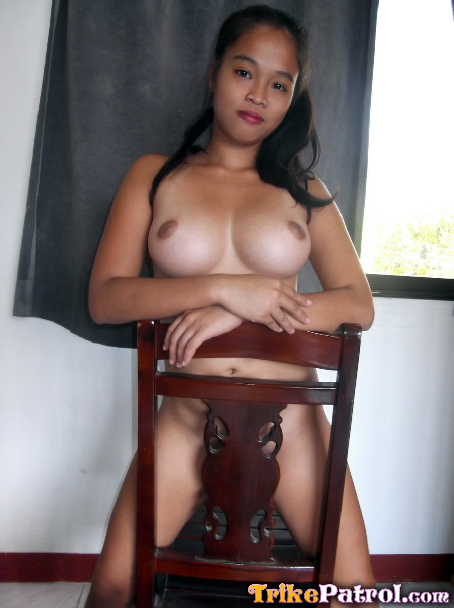 Mexican girl showing her naked
